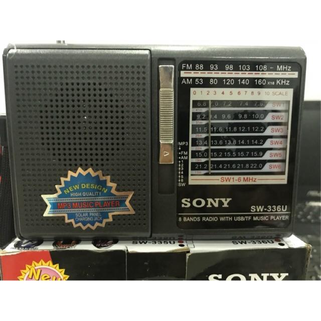 Radio sony SW-335U(336u) đọc thẻ sd và usb