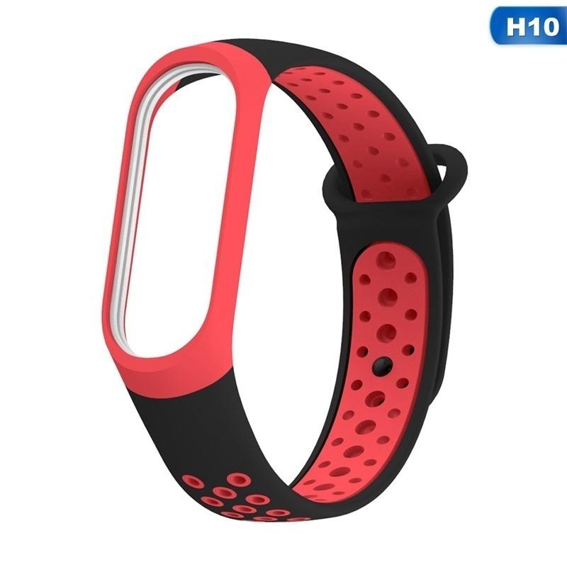 Dây đeo thể thao chất liệu silicone thiết kế độc đáo thay thế chuyên dụng cho xiaomi mi band 3 4