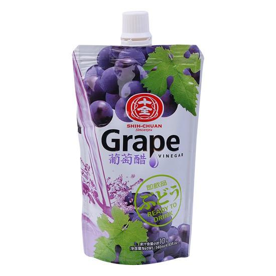 Nước Giấm Nho Vinegar Grape Uống Hỗ Trợ Tiêu Hóa Đẹp Da Giảm Cân 140ml