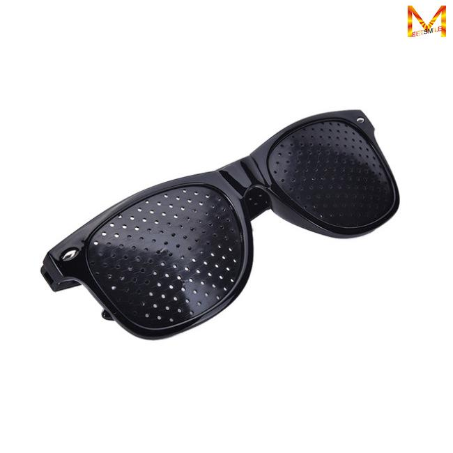 Anti-fatigue Stenopeic Eyeglasses Vision Care Eyesight Improver Pinhole Glasses