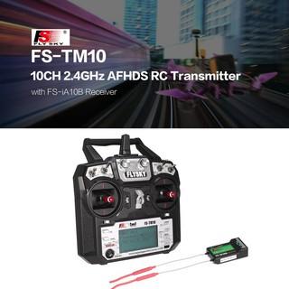 M1/B5Flysky FS-TM10 FS-i6X 10CH 2.4GHz AFHDS RC Transmitter with FS-IA10B Receiver