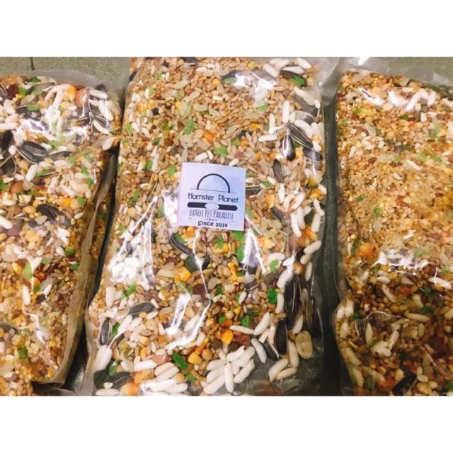 [Mã 1510FMCGSALE giảm 8% đơn 500K] Thức ăn Hamster cao cấp 500g 35 thành phần