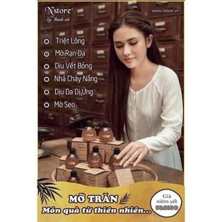 Mỡ trăn nguyên chất Nstore triệt lông, mờ rạn da thumbnail
