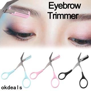 Kéo cắt tỉa lông mày tích hợp lược tiện dụng thumbnail