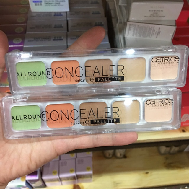 Che khuyết điểm catrice allround concealer palette