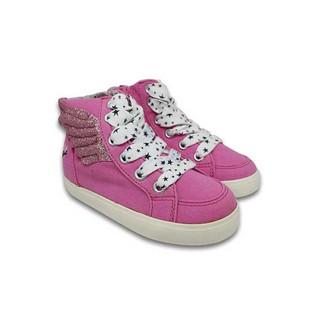 Giày Sneaker Bé Gái Cổ Cao In Cánh Thiên Thần D&A BG1507 - Hồng thumbnail
