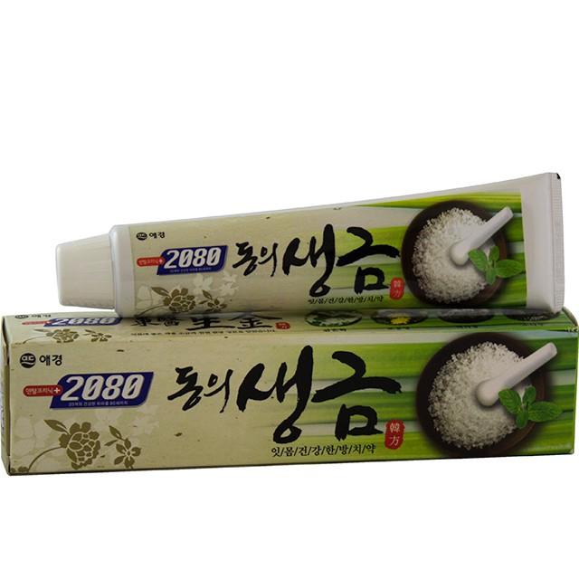 [FREESHIP 99K] Kem đánh răng ngăn chặn tối đa các vi khuẩn gây hại DONGEUI chứa muối Hàn Quốc 120g