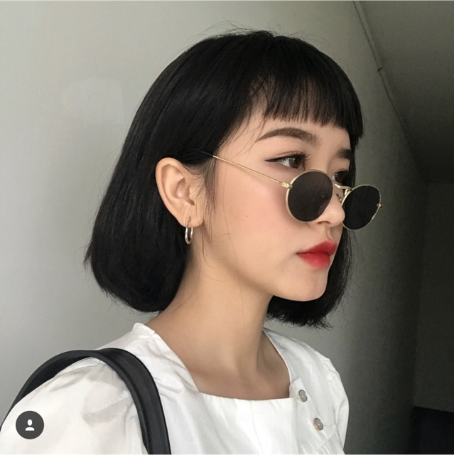 Kính tròn nhỏ hot trend (có clip thật) | Shopee Việt Nam