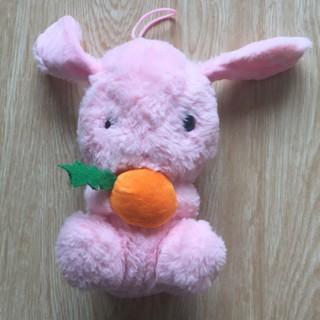Gấu bông thỏ hồng dễ thương cho bé