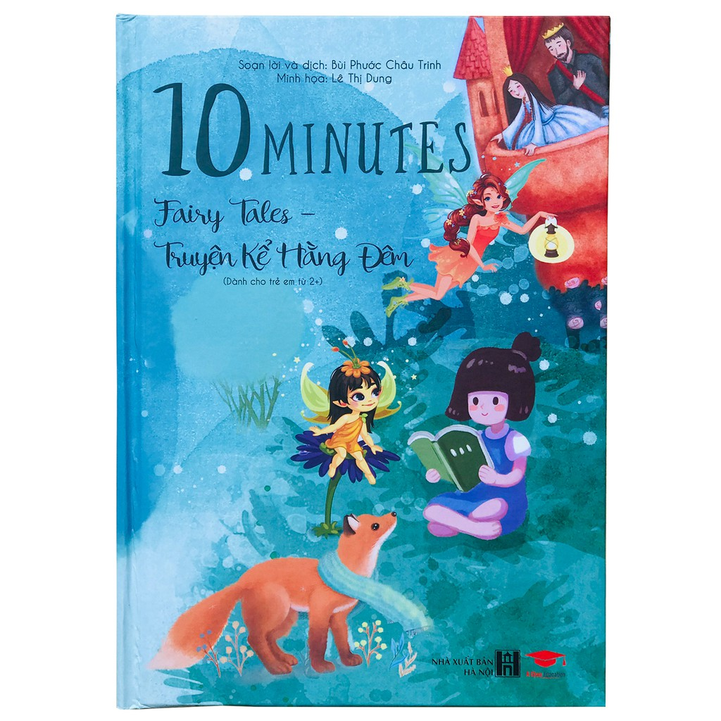 Sách : Truyện kể hàng đêm 10 Minute Fairy -  truyện tranh, truyện cho bé