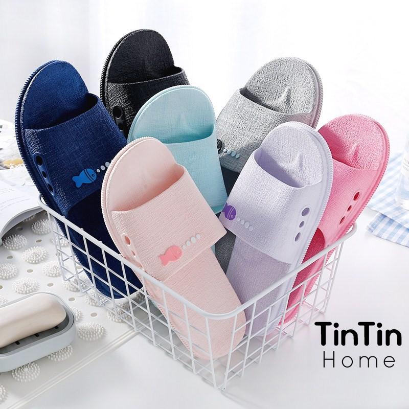 Dép Đi Trong Nhà, Văn Phòng, Nhà Tắm hàng xuất Nhật chống trơn trượt TINTIN DNL10
