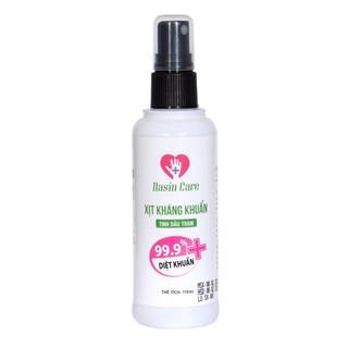 Xịt Rửa tay khô diệt khuẩn 99,9% tinh dầu tràm thơm mát Ngăn ngừa vi khuẩn lây nhiễm Nasincare - 110ml-0