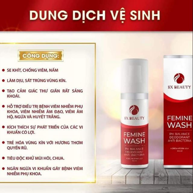 Dung dịch vệ sinh phụ nữ