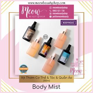 Bodyholic Body Mist - Xịt Thơm Cơ Thể & Tóc & Quần Áo Nam Nữ (100ml) thumbnail