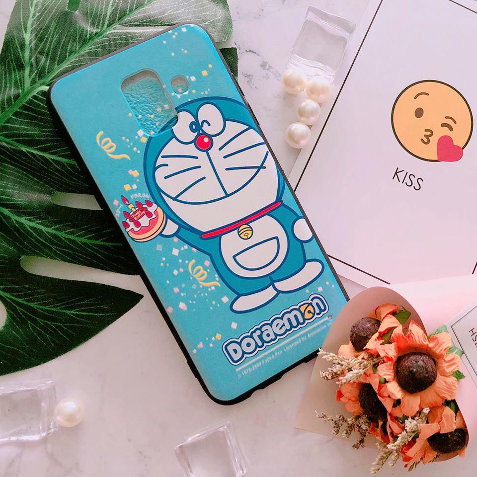 Ốp Samsung A6 2018 doraemon cute