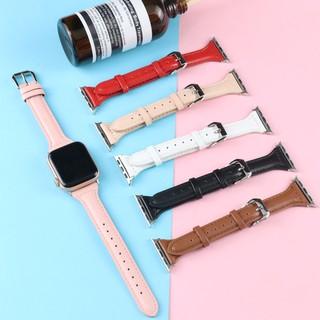 Dây đeo da chất lượng cao dành cho Apple Watch Iwatch 6 SE 5 4 3 2 1 40mm 44mm 42mm 38mm thumbnail