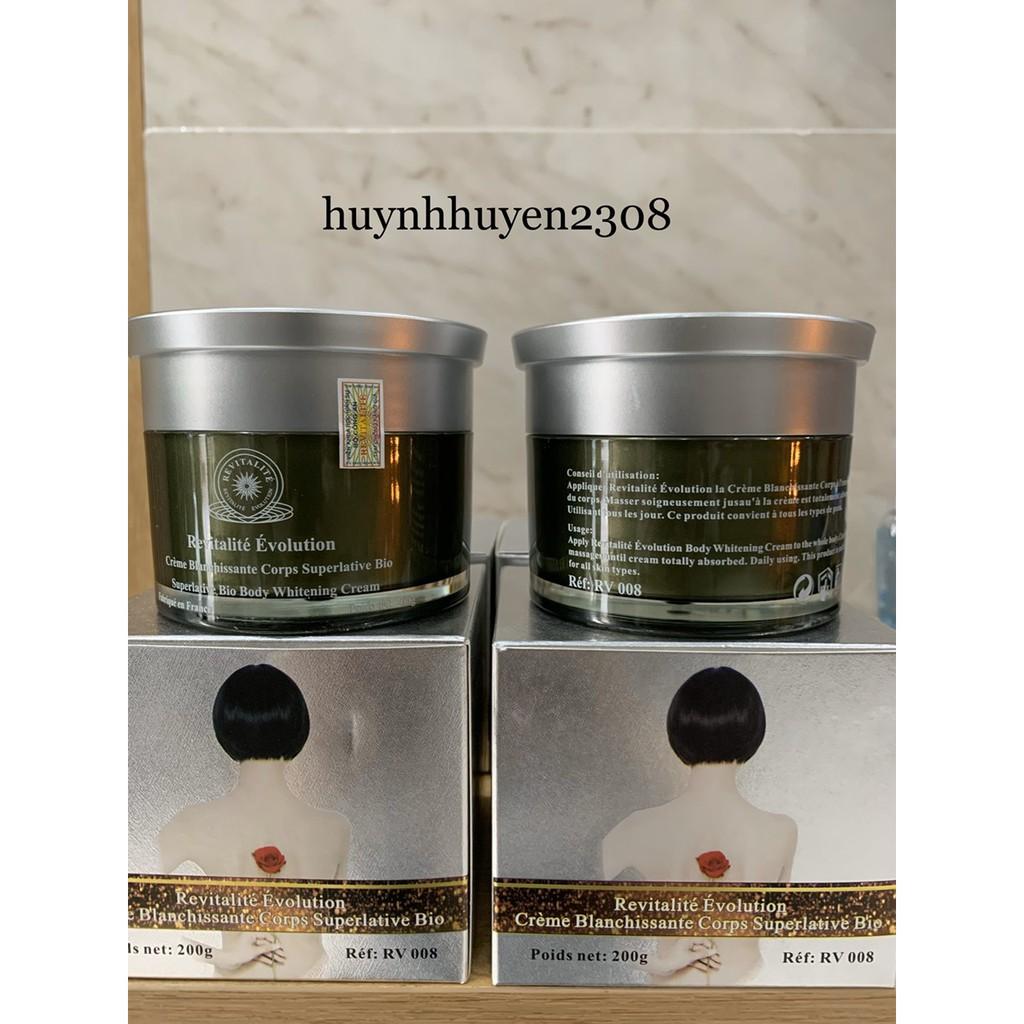 [Hàng Công ty_Hàng Pháp] Kem Dưỡng Sáng Da Toàn Thân Revitalite Body Whitening Cream