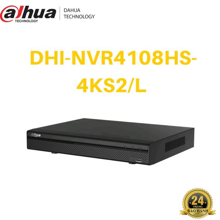 Đầu ghi hình camera IP 8 kênh DAHUA DHI-NVR4108HS-4KS2/L