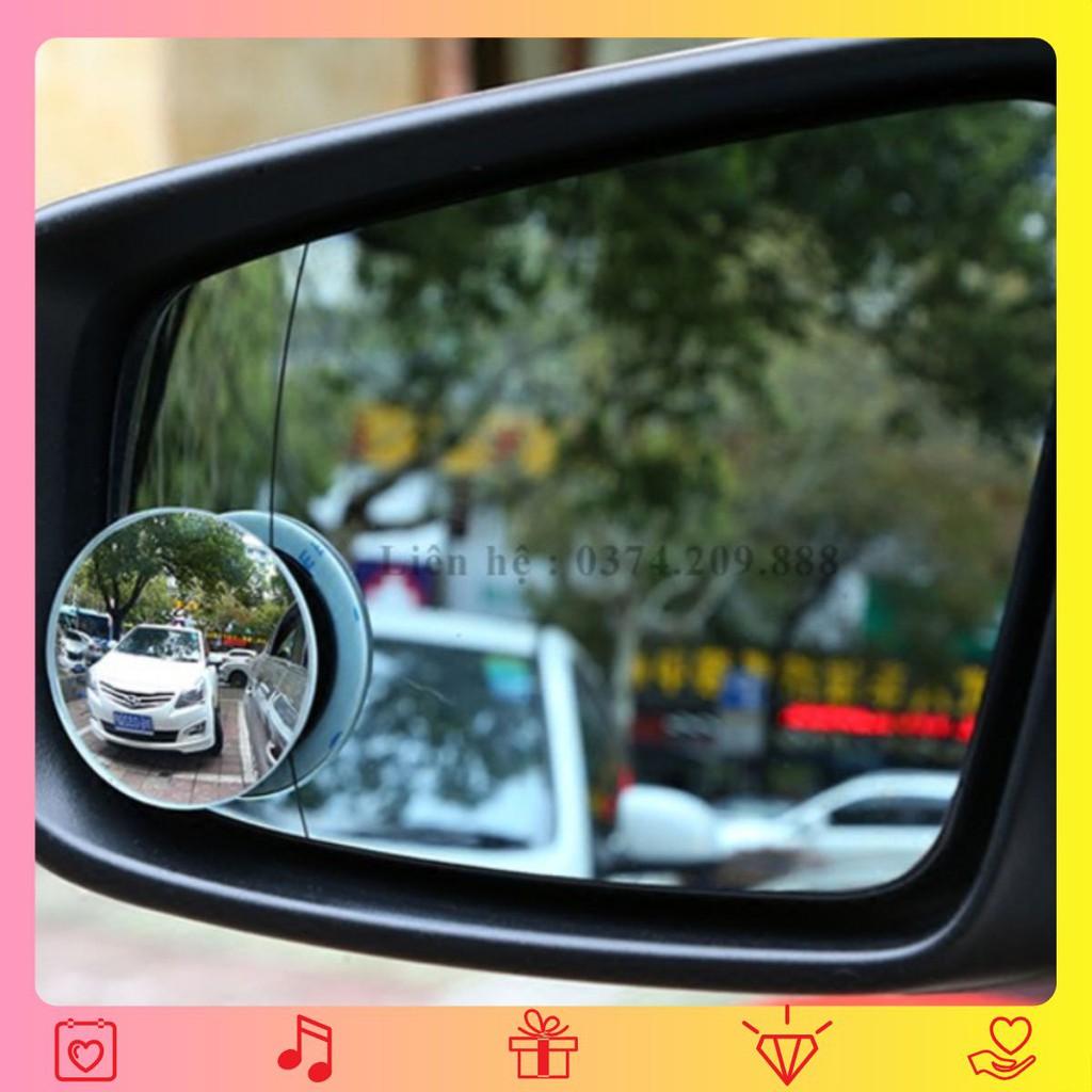 2 gương cầu lồi gắn kính chiếu hậu xóa điểm mù cho xe hơi 💖.FREESHIP💖 giảm 10k khi nhập [PHỤ KIỆN] Phụ Kiện Ô Tô