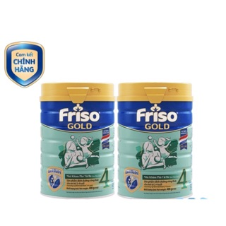 Combo 2lon Sữa Friso gold 4 900g thumbnail