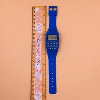 Đồng hồ điện tử máy tính trẻ em [Đơn 50k tặng kẹp tóc Hàn Quốc cực xinh]