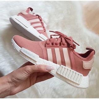Giày thể thao  Sneaker  nmd  hồng đất( tặng móc khoá )