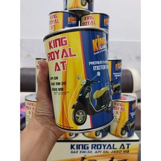 KINGLUBE - NHỚT KING ROYAL AT 5W30  0.8L NHỚT TỔNG HỢP CHẤT LƯỢNG CAO CHO XE TAY GA