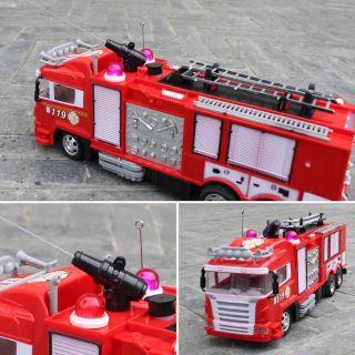 (Siêu Hot) Xe cứu hỏa điều khiển phun nước từ xa
