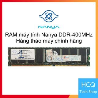 [Mua để nhận quà] RAM máy tính Nanya DDR-400MHz 256MB thumbnail