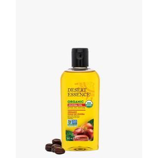 Dầu ép lạnh hữu cơ 118ml Hàng-Mỹ DESERT-ESSENCE Organic-Jojoba-Oil-Cold-Pressed-for-Hair-Skin-scale-4oz-USDA thumbnail