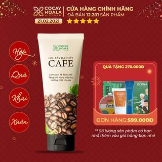 Kem tẩy da chết dành cho mặt chiết xuất cà phê Cocayhoala 100g thumbnail