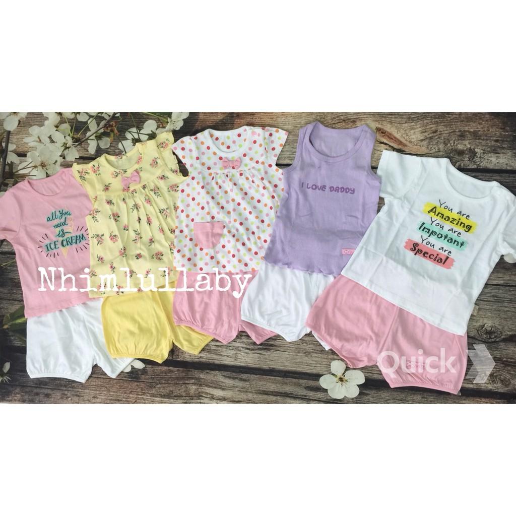 Set 5 bộ bé gái Lullaby nhím - 2629637 , 970409128 , 322_970409128 , 355000 , Set-5-bo-be-gai-Lullaby-nhim-322_970409128 , shopee.vn , Set 5 bộ bé gái Lullaby nhím