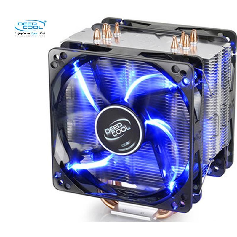 Quạt tản nhiệt khí Deepcool Gammaxx 400 2 quạt - Siêu mát và đẹp LED xanh - 3496141 , 882541108 , 322_882541108 , 492000 , Quat-tan-nhiet-khi-Deepcool-Gammaxx-400-2-quat-Sieu-mat-va-dep-LED-xanh-322_882541108 , shopee.vn , Quạt tản nhiệt khí Deepcool Gammaxx 400 2 quạt - Siêu mát và đẹp LED xanh