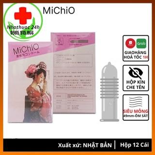 BAO CAO SU MICHIO Cao Cấp Chính Hãng Nhật Bản, Siêu Mỏng, Gân Gai, Kéo Dài Thời Gian Yêu (Che Tên Sản Phẩm) thumbnail