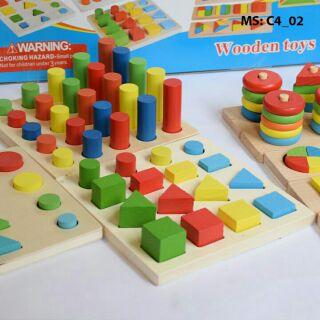 Đồ chơi học về cảm quan cho bé 212275