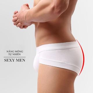 Quần lót nam dạng Brief – Quần sịp nam cao cấp cotton mịn
