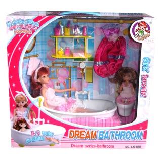 Đồ chơi công chúa và phòng tắm