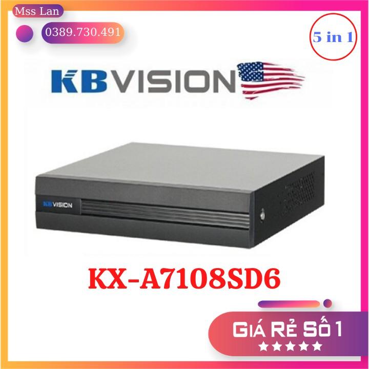 Đầu Ghi Hình 8 Kênh KBVision KX-A7108SD6 - Hàng Chính Hãng Thương Hiệu Mỹ - Bảo Hành 24 Tháng