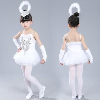 Bộ đồ múa bale thiên nga dành cho bé gái
