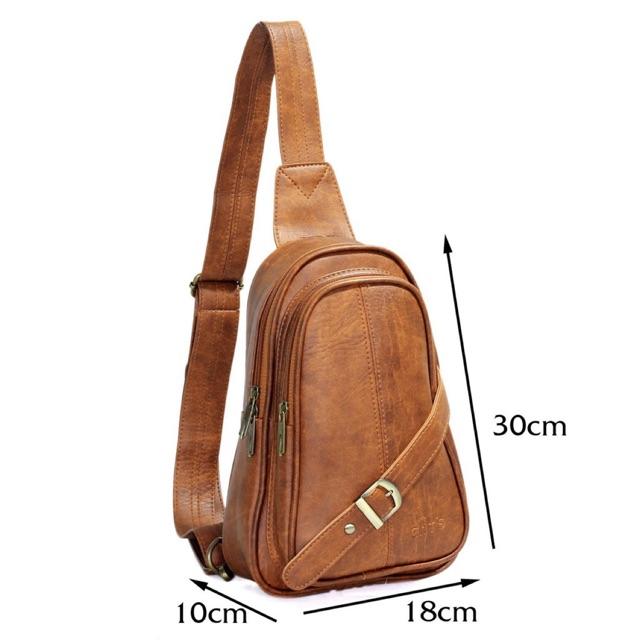 Túi đeo chéo CNT Unisex MQ20 sành điệu