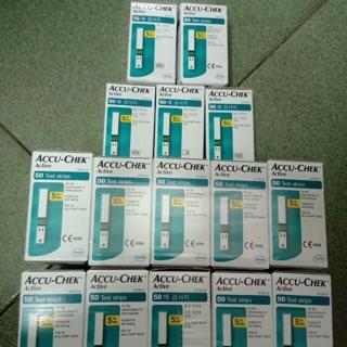 Que thử đường huyết Accu-check Active ( hộp 50 que )