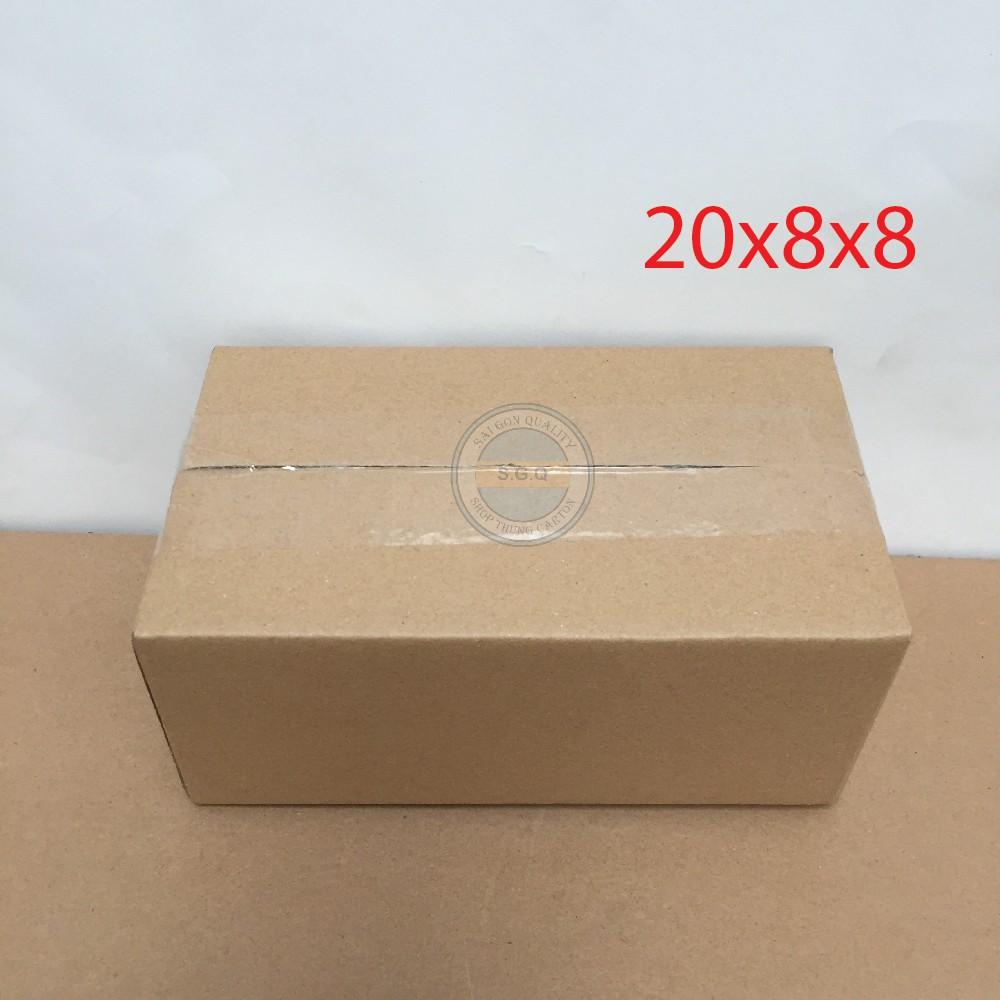 40 hộp carton 20x8x8 giá rẻ