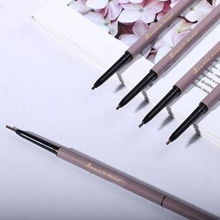 (Hàng Mới Về) Bút Chì Kẻ Lông Mày 3 Màu Tự Nhiên Chống Thấm Nước Và Mồ Hôi Dễ Sử Dụng D4B8