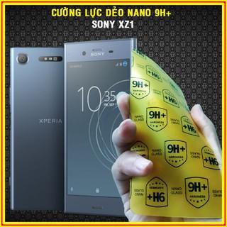 Cường lực dẻo nano 9H+ cho Sony XZ1 / Sony XZ2 / Sony XZ3 Full 98% màn siêu bên,không sứt mẻ viền