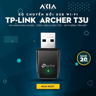 Bộ Thu Wifi TP-Link Archer T3U MU-MIMO Mini AC1300 Băng Tần Kép – Cổng USB 3.0 – Hàng Chính Hãng