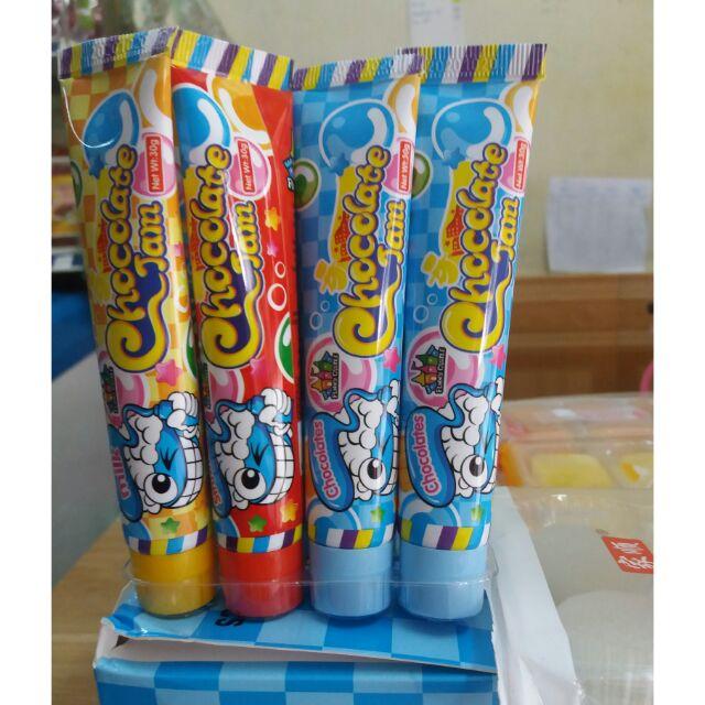 Kẹo tuýp kem đánh răng Thái Lan siêu hot
