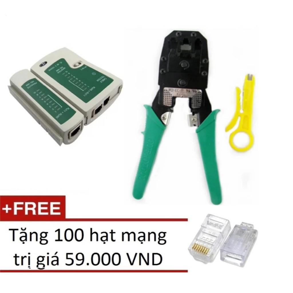 Bộ 1 Hộp test mạng đa năng RJ45 + 1 Kìm bấm mạng đa năng + Tặng 100 hạt mạng - 14526878 , 313632572 , 322_313632572 , 102500 , Bo-1-Hop-test-mang-da-nang-RJ45-1-Kim-bam-mang-da-nang-Tang-100-hat-mang-322_313632572 , shopee.vn , Bộ 1 Hộp test mạng đa năng RJ45 + 1 Kìm bấm mạng đa năng + Tặng 100 hạt mạng