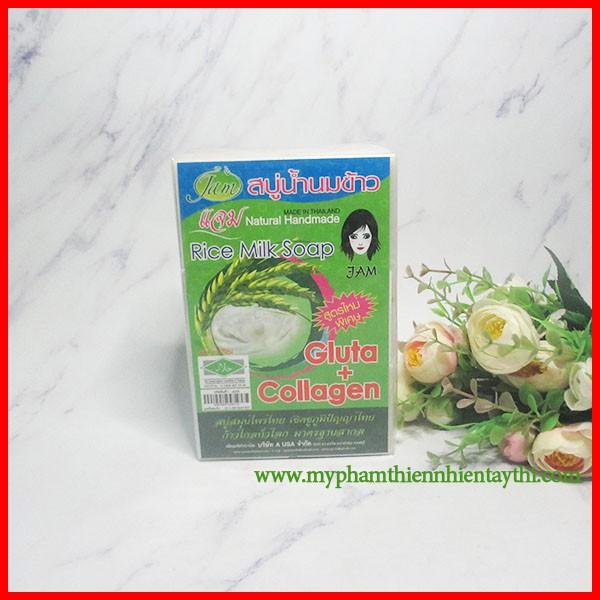 Xà Phòng Cám Gạo Thái Lan 1 Cục