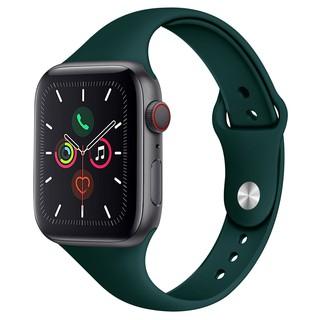 Dây Đeo Silicon Thể Thao Cho Đồng Hồ Thông Minh Apple Watch 1 / 2 / 3 / 4 / 5
