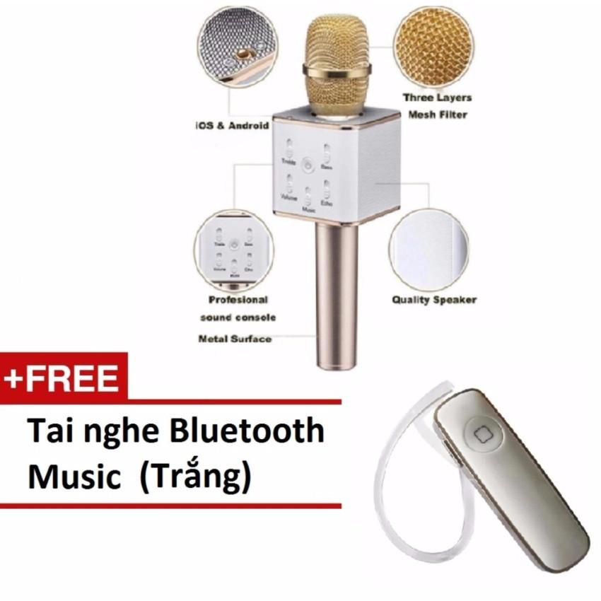 Micro kèm loa bluetooth Q7 thế hệ mới BQ184 + Tặng kèm 1 Tai ngheBluetooth Music (Trắng) - 3046344 , 318257713 , 322_318257713 , 219000 , Micro-kem-loa-bluetooth-Q7-the-he-moi-BQ184-Tang-kem-1-Tai-ngheBluetooth-Music-Trang-322_318257713 , shopee.vn , Micro kèm loa bluetooth Q7 thế hệ mới BQ184 + Tặng kèm 1 Tai ngheBluetooth Music (Trắng)